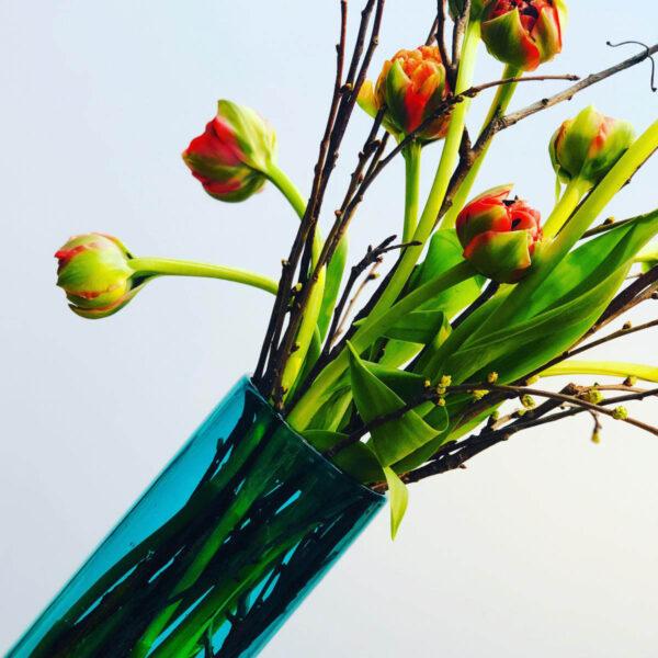 Menza flowers theelicht