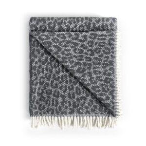 menza plaid leopardo dark grey